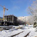 Ход строительства ЖК Аврора в январе 2019